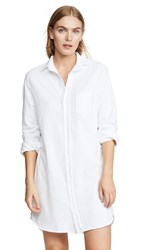 Frank And Eileen Relaxed Button Down Shirt Dress White