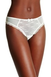 Free People Lacy Thong Beige
