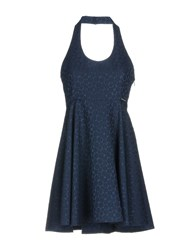 Maison Espin Short Dresses Dark Blue