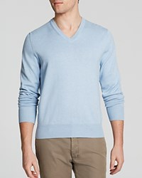 Brooks Brothers Solid V Neck Sweater