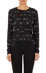 Proenza Schouler Women's Tissue Weight Jersey T Shirt Multi