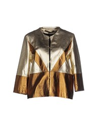 Space Style Concept Suits And Jackets Blazers Women Platinum