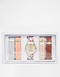 Aldo Yinna Multi Srap Flower Watch Multicoloured
