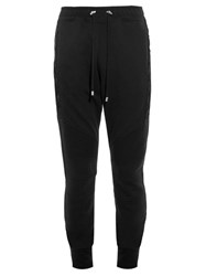 Balmain Biker Ribbed Panel Track Pants