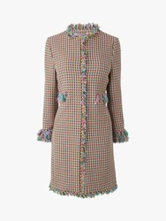Lk Bennett L.K.Bennett Conilia Tweed Coat Multi
