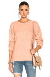 Frame Denim Boxy Boyfriend Sweater In Neutrals Pink Neutrals Pink