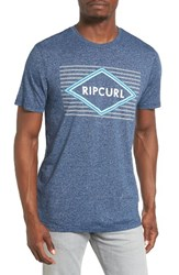 Rip Curl Men's Deer Field Graphic T Shirt Navy