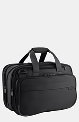 Men's Briggs And Riley Expandable Cabin Bag Black