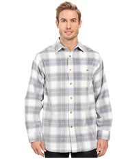 Scully Dylan Soft And Light Yarn Dye Corduroy Shirt Blue White Men's Long Sleeve Button Up