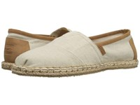 Toms Seasonal Classics Birch Hemp Men's Slip On Shoes Khaki