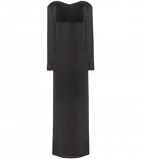 The Row Amrol Satin Gown Black