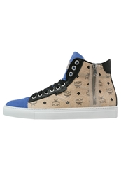 Michalsky Urban Nomad Iii Hightop Trainers Beige Blue