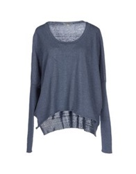 Crossley Sweaters Slate Blue