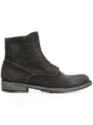 Officine Creative 'Ikon' Ankle Boots Grey
