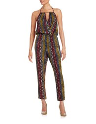 Ella Moss Snakeskin Patterned Jumpsuit