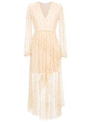 Spacenk Nk Sheer Midi Dress Nude And Neutrals