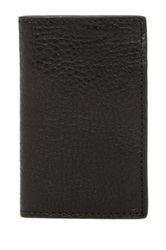 Star Usa By John Varvatos Leather Cardfold Black