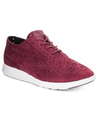 Cole Haan Grand Tour Oxford Sneakers Women's Shoes Dark Red
