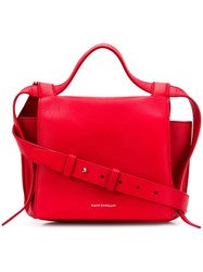 Elena Ghisellini Angel Satchel Bag Red