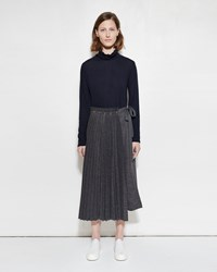 Zucca Pleat Skirt Grey