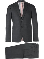 Thom Browne Two Piece Suit Grey