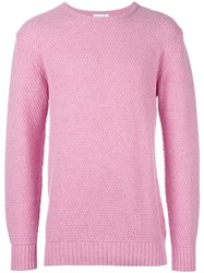 Soulland 'Ricketts' Jumper Pink Purple