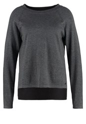 Bench Wrath Jumper Dark Grey Marl Mottled Dark Grey