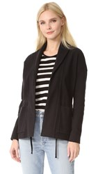 James Perse Shawl Collar Jacket Black