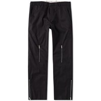 Alexander Mcqueen Cotton Zip Pant Black
