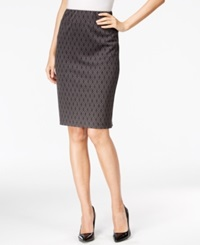 Style And Co. Printed Ponte Skirt Only At Macy's