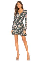 Auguste Spring Rose Wylde Mini Dress Navy