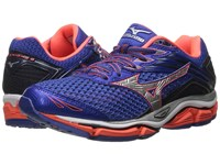 Mizuno Wave Enigma 6 Dazzling Blue Fiery Coral Silver Women's Running Shoes