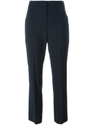 Piazza Sempione Cropped Pants Blue