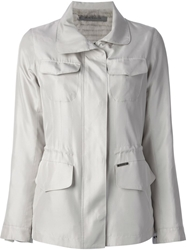 Simonetta Ravizza Pocket Jacket Grey