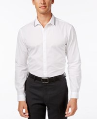 Inc International Concepts Men's Beaded Collar Shirt Only At Macy's White