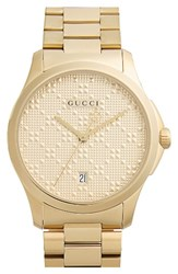 Gucci Men's Round Bracelet Watch 38Mm