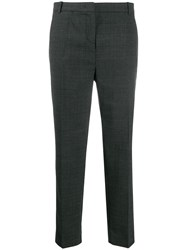 Pinko Checked Trousers Black