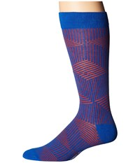 Richer Poorer Tyrell Blue Red Men's Crew Cut Socks Shoes