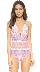 Nanette Lepore Gypsy Queen Goddess One Piece Multi