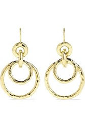 Ippolita Jet Set Medium 18 Karat Gold Earrings