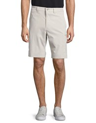 Callaway Opti Stretch Golf Performance Solid Shorts Silver Lining