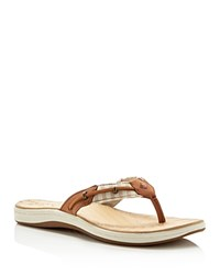 Sperry Seabrook Sand And Surf Striped Flip Flops