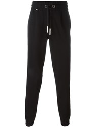 Philipp Plein Side Stripe Track Pants Black