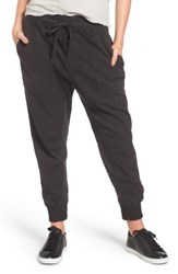 James Perse Women's Jogger Pants Carbon