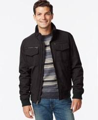 Tommy Hilfiger Performance Bomber Jacket Black