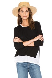Generation Love Ellie Double Layer Top Black