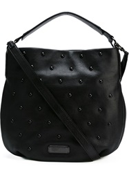 Marc By Marc Jacobs 'New Q Studs Hobo' Tote Black