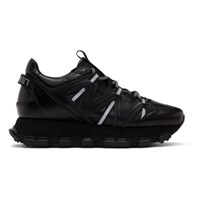 Lanvin Black Lightning Sneakers