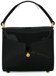 Marc Jacobs Small 'Bauletto' Tote Black