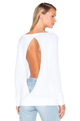Chaser Cross Over Long Sleeve Thermal Top White